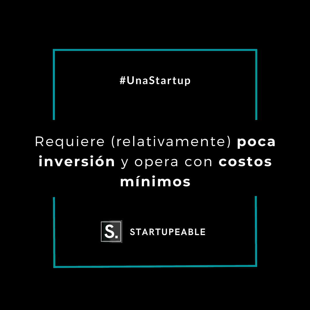 startup inversión