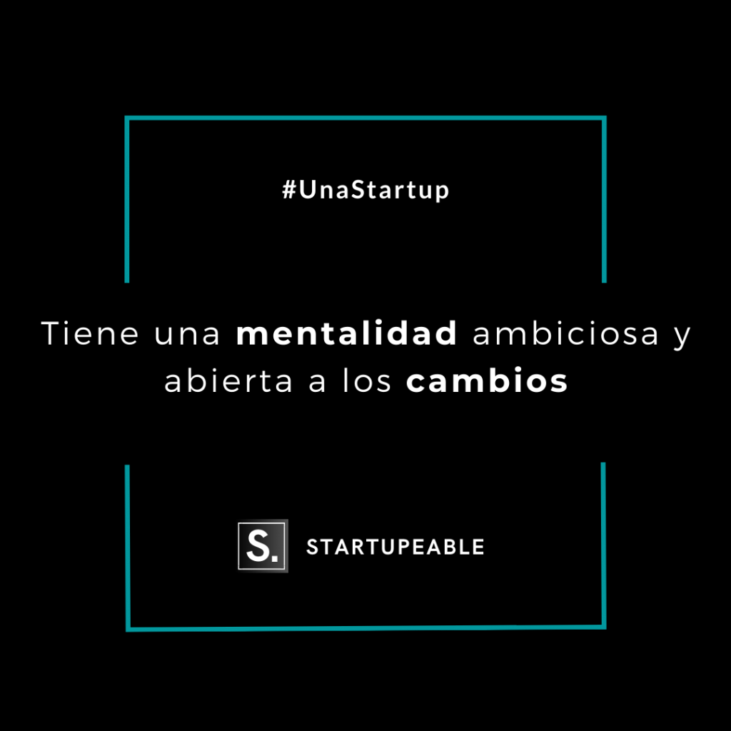 mentalidad startup