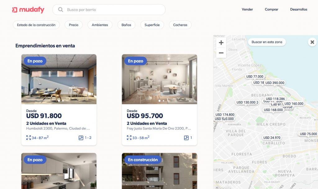startups argentina plataforma Mudafy