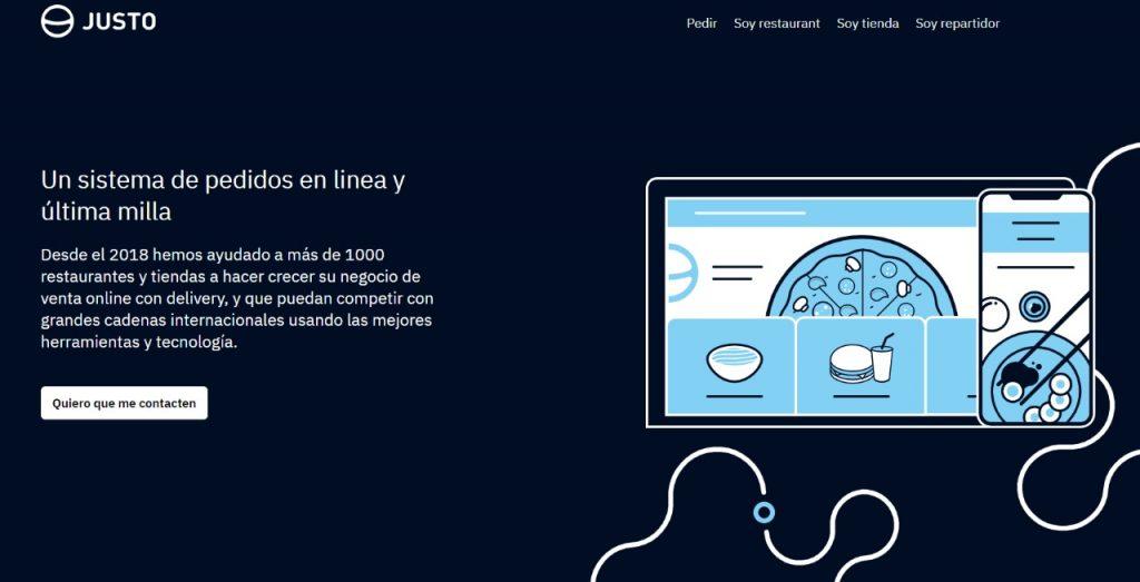startup chile justo web