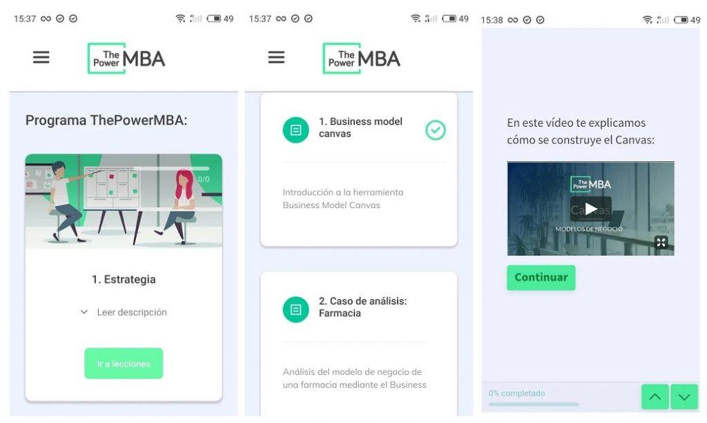 startup española thepowermba