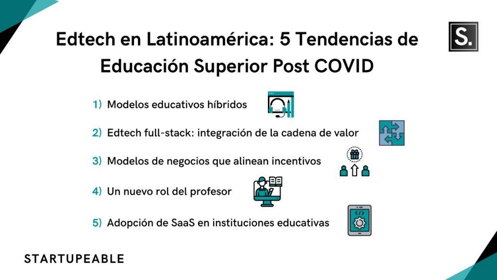 edtech tendencias latinoamérica
