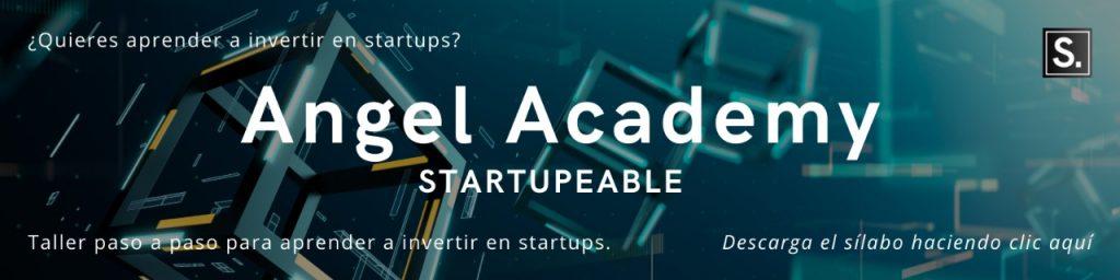 invertir en startups pasos angel academy