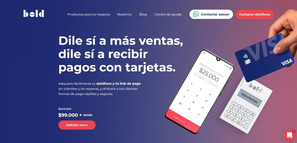 Fintech colombianas Bold