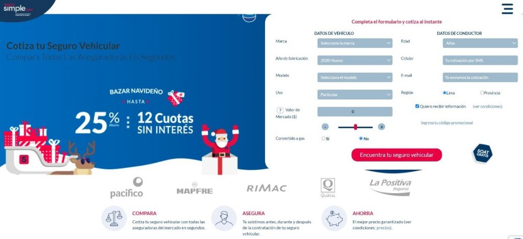 Fintech Perú Seguro Simple