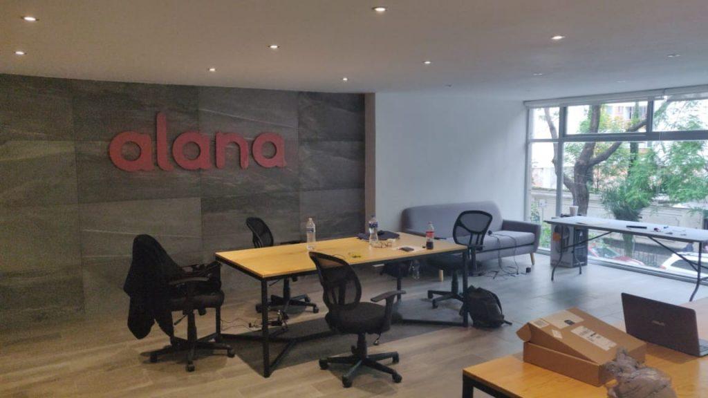 Oficina de Alana startup