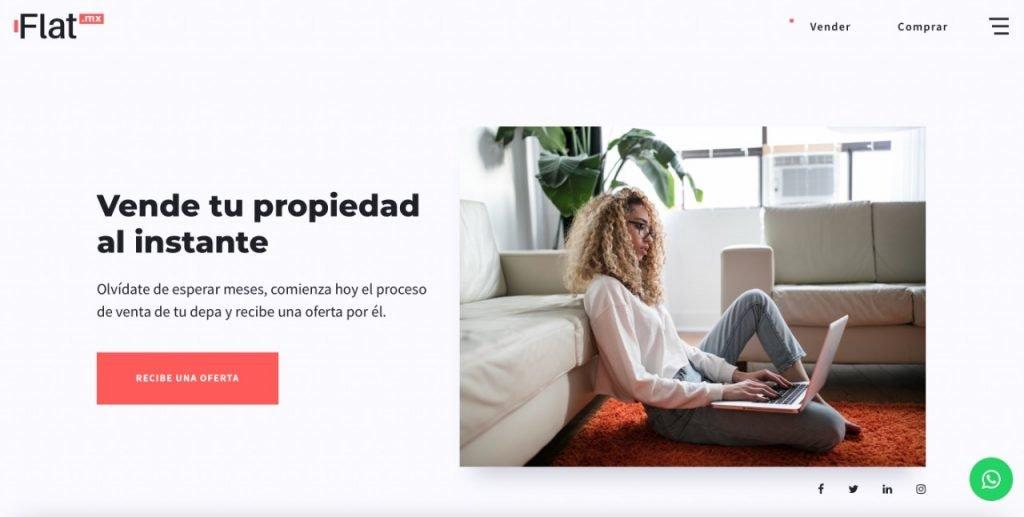 startups proptech flat.mx