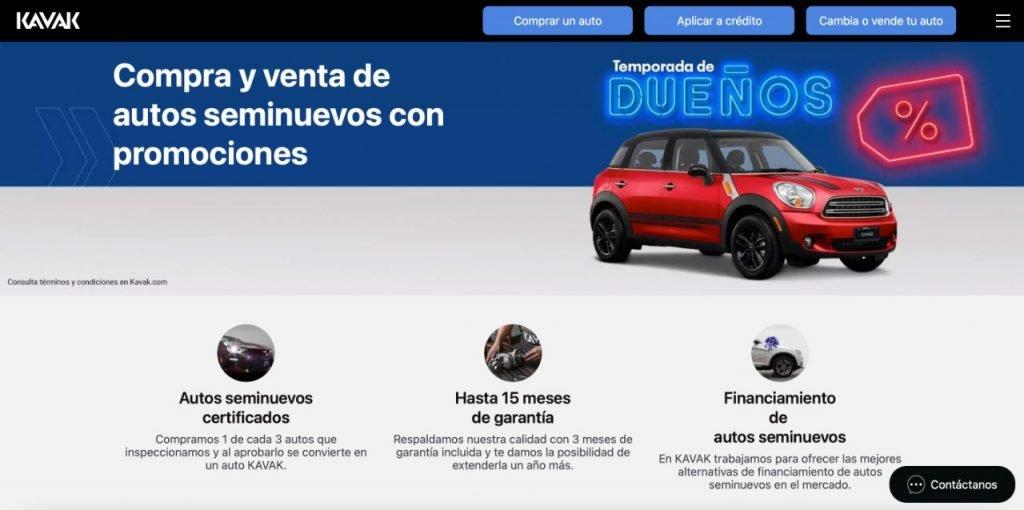 startups e-commerce latinoamerica Kavak