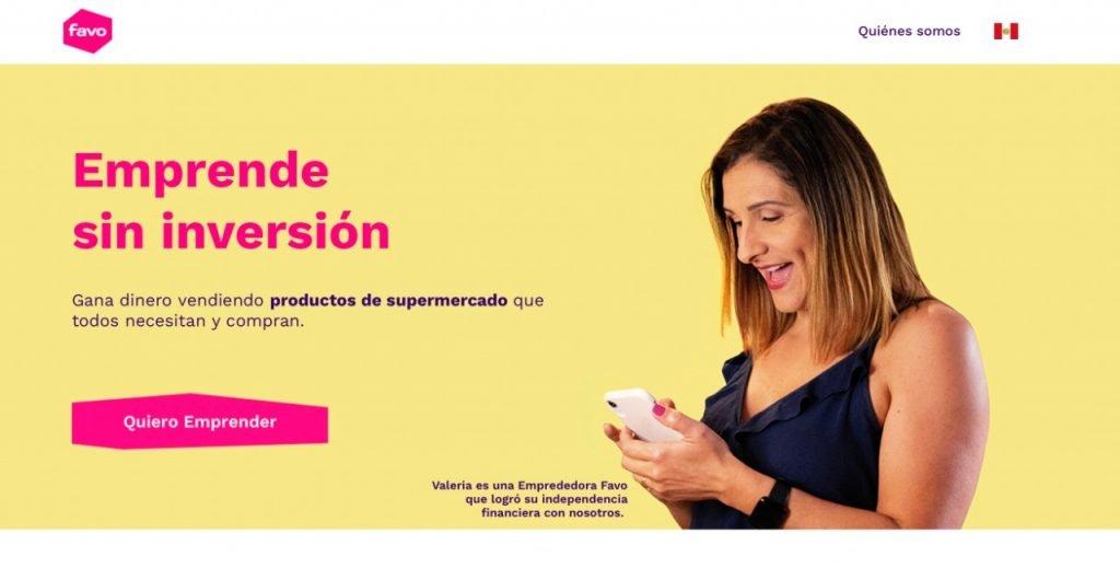 startups e-commerce latinoamerica Favo
