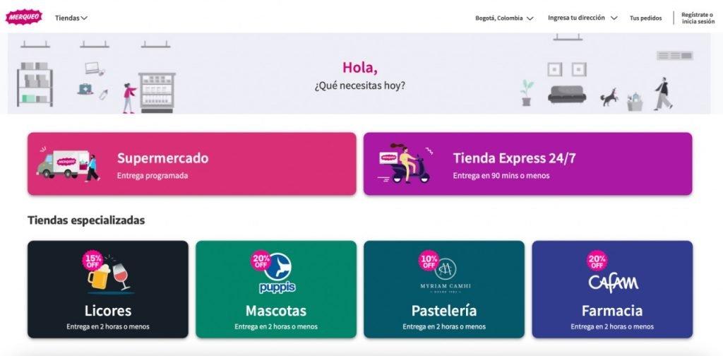 startups e-commerce latinoamerica Merqueo