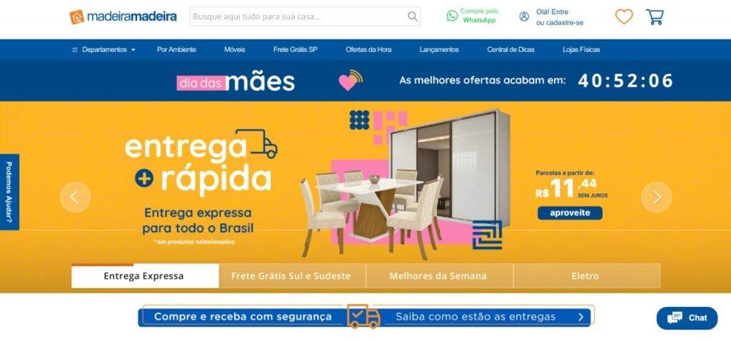 startups e-commerce latinoamercia Madeiramadeira