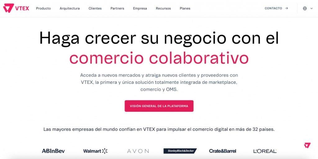 startups e-commerce latinoamercia Vtex