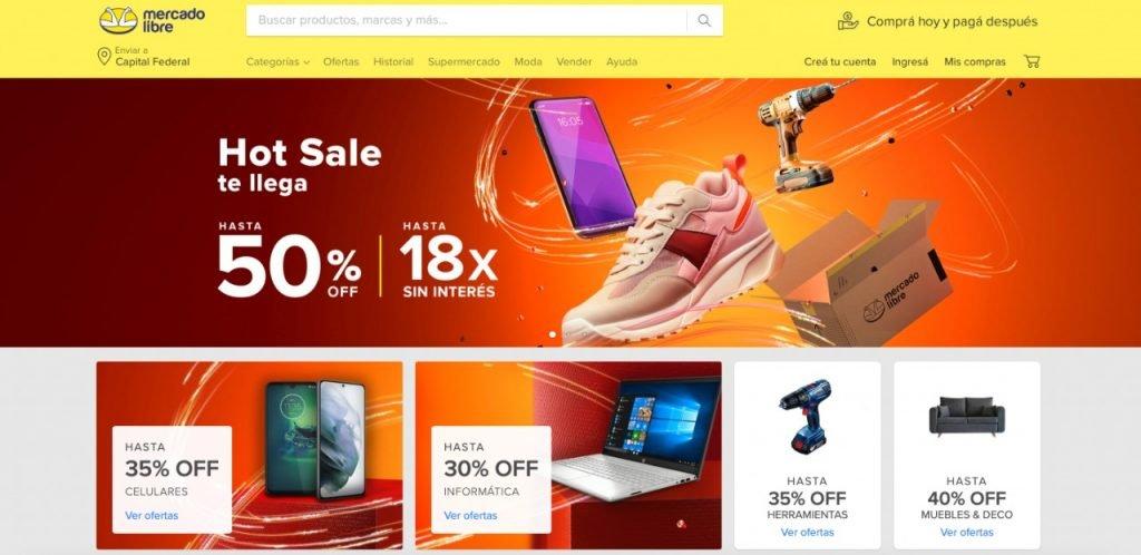 startups e-commerce latinoamerica Mercado Libre