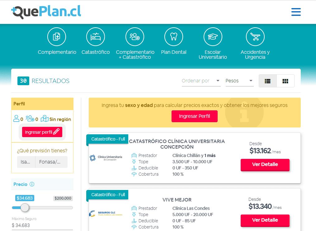 startups healthtech QuePlanCl
